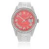 Rolex DateJust 36 Stainless Steel 2.5ct Diamond Bezel Automatic Men's Watch