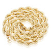 10k Yellow Gold 10mm Rope Chain 32.5in