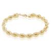 10k Yellow Gold 6.5mm Rope Bracelet