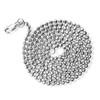 14k Gold 3mm Diamond Cut Moon Ball Chain 3