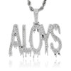 Custom White Gold ALOYS Pendant