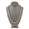 14k Yellow Gold 14.06ct Diamond Rope Chain 31in