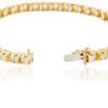 14k Yellow Gold 4.15ct Diamond Tennis Bracelet