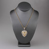 10k Yellow Gold 4.70ct Lion's Head Pendant On