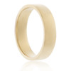 14K Yellow Gold Solid 4mm Band