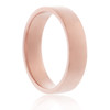 14K Rose Gold Solid 4mm Band