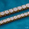 14k Yellow Gold 16.25ct Diamond Tennis Bracelet