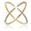 18K Yellow Gold .31ct Diamond Arrow Ring