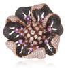 18k Rose Gold 11.34ct Diamond Ring