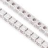 14k White Gold 3.32ct Diamond Tennis Bracelet