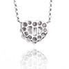 18k White Gold Diamond Heart Pendant .50ct