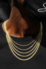 Solid Miami Cuban Link Chain (2.5mm)