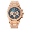 Audemars Piguet Royal Oak Chronograph Rose Gold Front