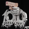 "Custom Two-Tone Q Da Fool ""100 Round Goon"" Pendant"