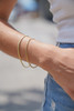 Women's 10k Yellow Gold 2.5mm Cuban Bracelet