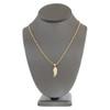 10K Yellow Gold Medium Angel Wing Pendant Necklace