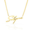 """14kt Yellow Gold """"Shyne"""" Necklace"""