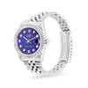 Rolex DateJust 31mm Stainless Steel with Blue Diamond Dial
