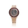 Exclusive Riff Raff Custom Rolex Day-Date II Rose Gold Ruby Watch
