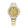 Rolex Daytona Stainless Steel 18K Gold Diamond Two-Tone Automatic Men's Watch 116523 Front View