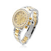Rolex Daytona Stainless Steel 18K Gold Diamond Two-Tone Automatic Men's Watch 116523 Front Side