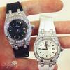Audemars Piguet Royal Oak Stainless Steel 6.5ct Diamond Watch In Hand