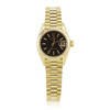 Rolex Lady-DateJust 26mm Presidential 18k Yellow Gold Watch