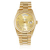Rolex Day-Date 18k Yellow Gold President Automatic 36mm Watch