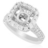 18K White Gold 1.47ct Engagement Ring Setting