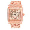 Franck Muller 18k Rose Gold 27.8ct Diamond Watch
