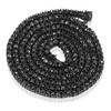 14k Black Gold 35ct Black Diamond Chain