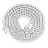 14k White Gold 22ct Diamond Tennis Chain