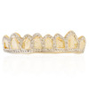 10k Yellow Gold 1.5ct Diamond Top 8 Grill