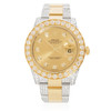 Rolex DateJust 18k Yellow Gold and Stainless Steel 13.5ct Diamond Automatic Men's Watch