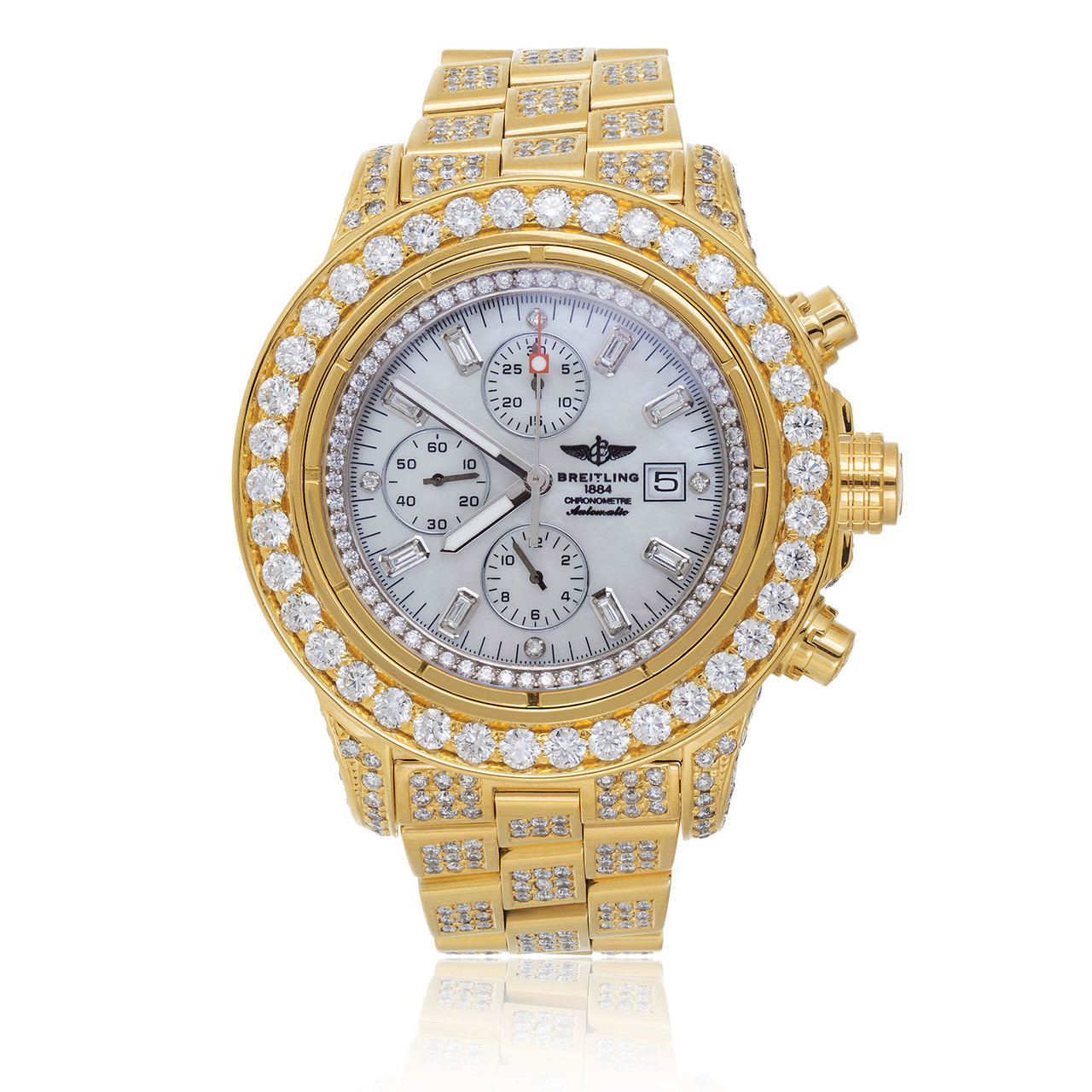 Breitling Diamond Watch