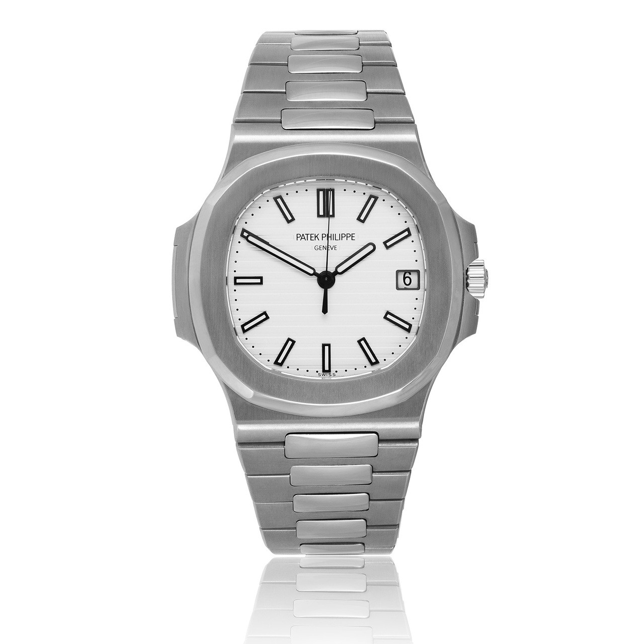 57111a Steel Watch Nautilus Stainless Philippe Patek wOX8Pn0k