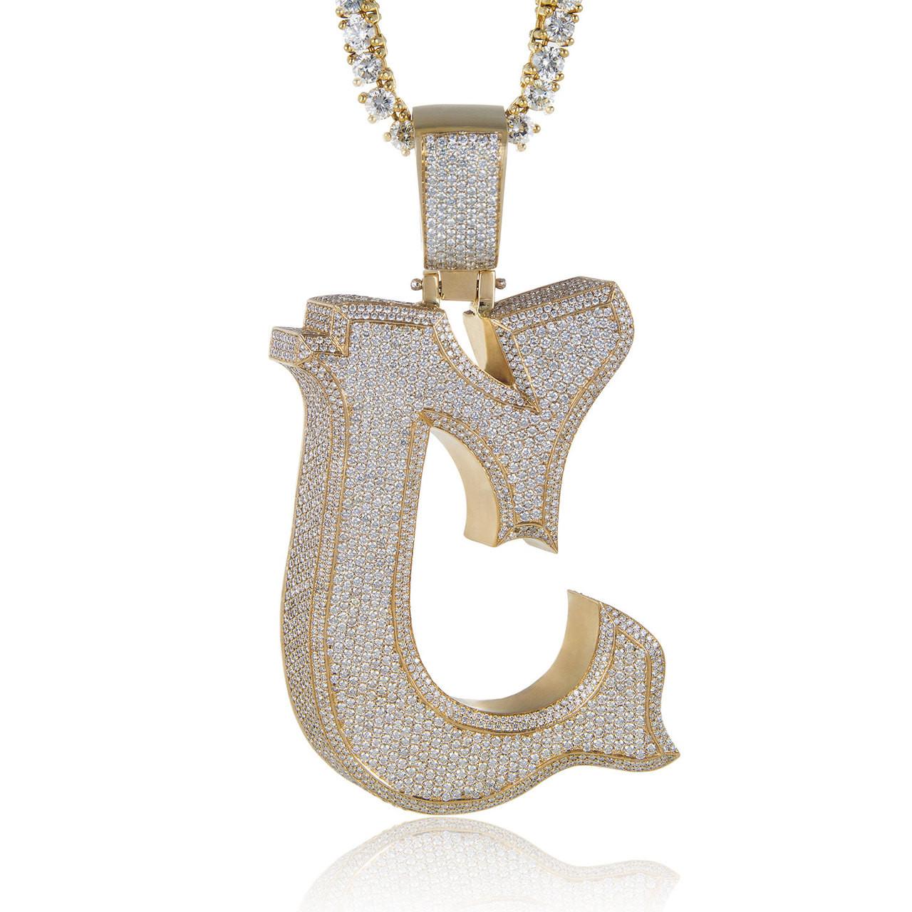 10k Yellow Gold Custom Diamond