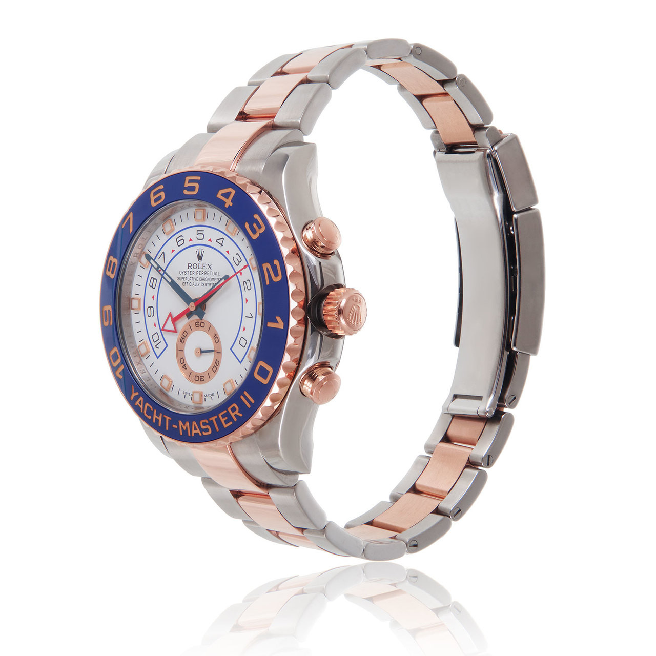 16cb64888 Home · Men's Jewelry · Rolex Two-Tone Yacht-Master II 18k Rose Gold  Automatic Men's Watch. Previous
