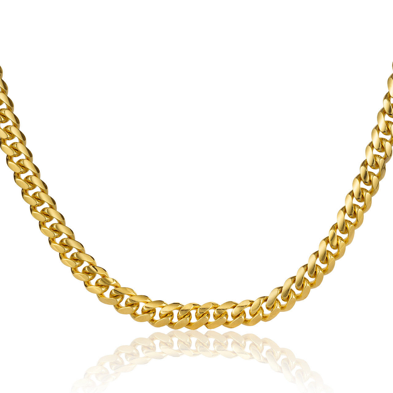 4f582229b 10k Miami Cuban Link Chain (5mm) - Shyne Jewelers