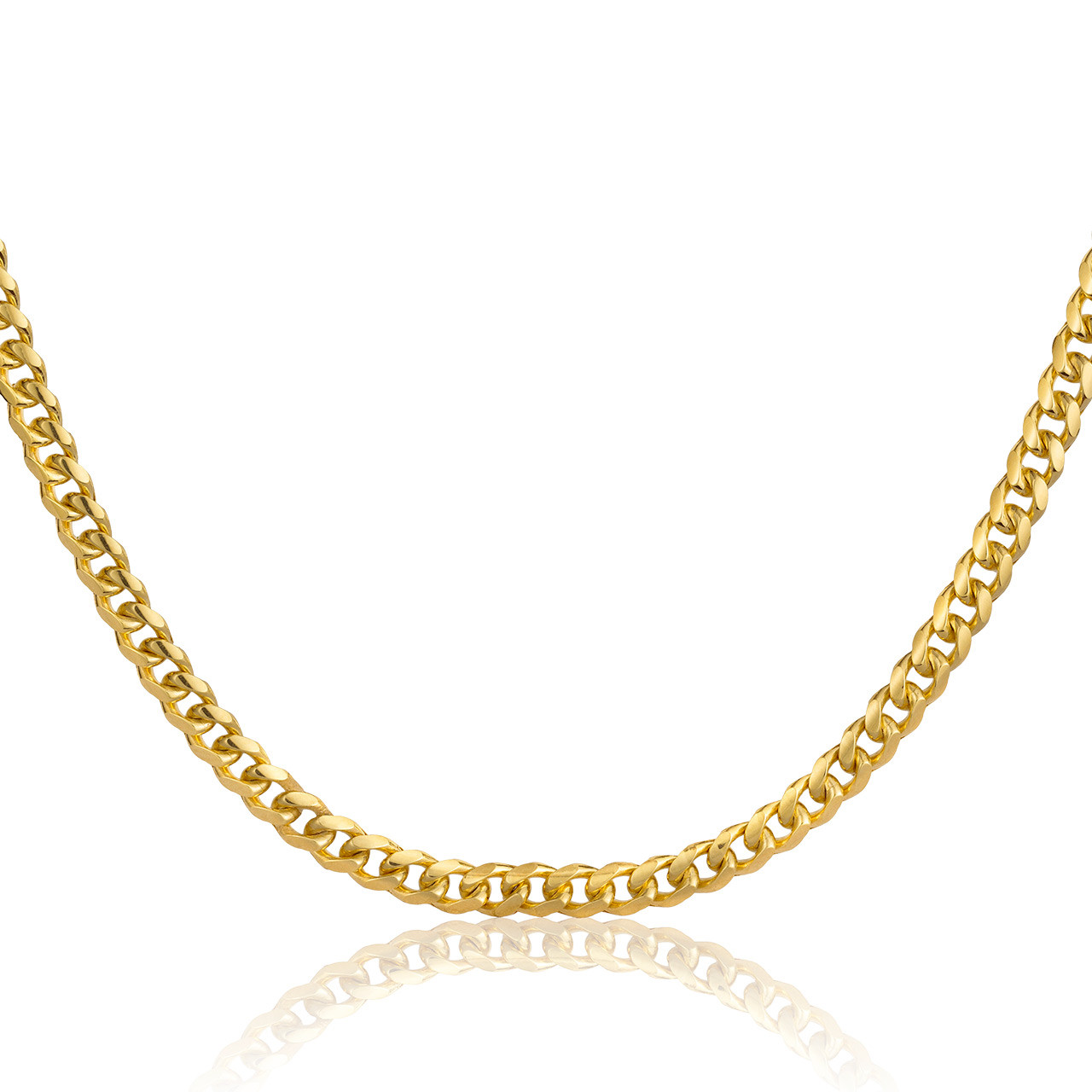 10k Gold Cuban Link Chain >> 10k Miami Cuban Link Chain 3 5mm
