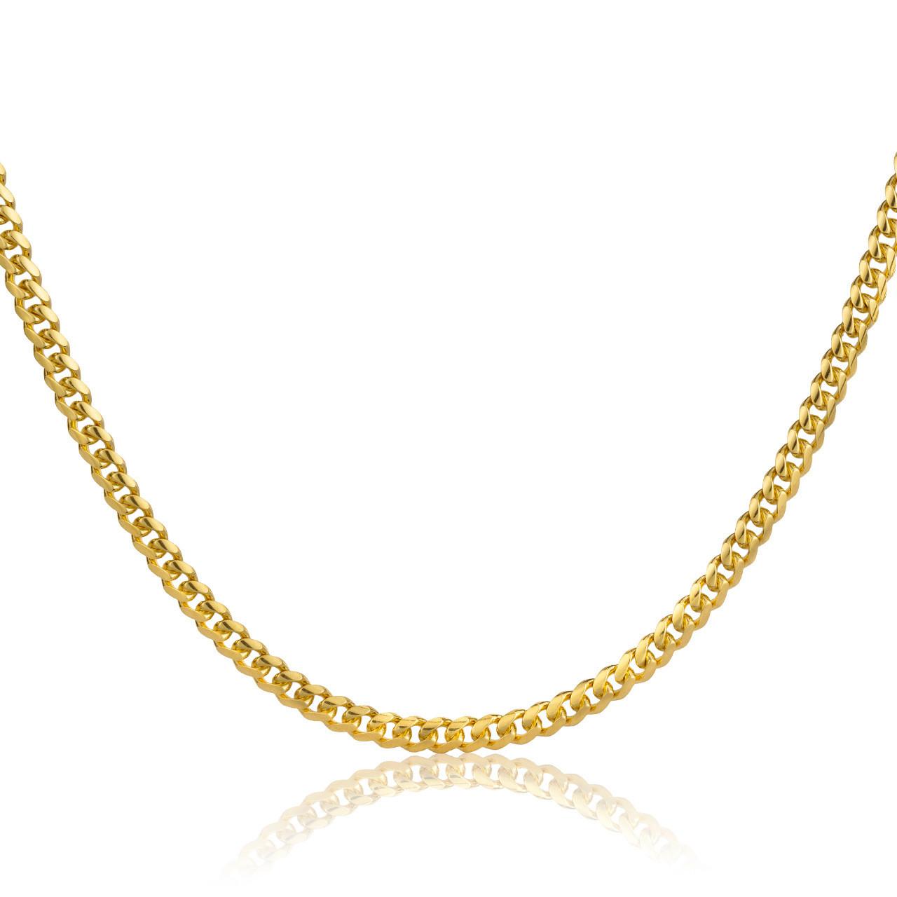 003c3242d6d83 14k Gold Miami Cuban Link Chain (2.5mm)