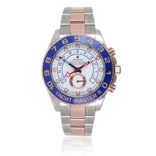 1c66241e0 Rolex. Rolex Two-Tone Yacht-Master II 18k Rose Gold Automatic Men's Watch