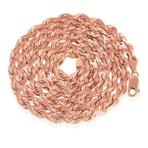 7c9bdd6b2b42a 14k Yellow Gold 2mm Rope Chain 16in - Shyne Jewelers