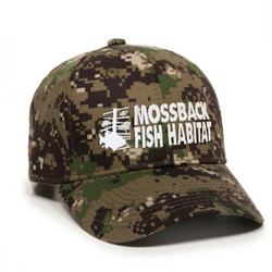MossBack Camo Hat