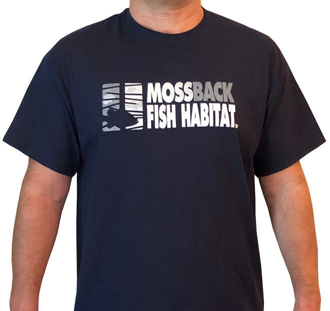 Unisex Cotton MossBack Short Sleeve Tee