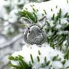 Pewter Rabbit Lapel Pin