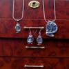 Sterling Silver Fat Cat Earrings