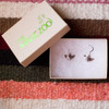 Sterling Silver Chihuahua Earrings