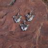 Sterling Silver Pit Bull Earrings