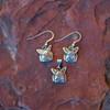 Sterling Silver Bunny Earrings